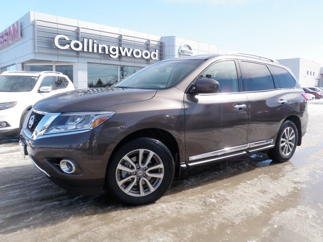 2015 nissan pathfinder sl 4wd back up cam collingwood ontario used car for sale 2062204. Black Bedroom Furniture Sets. Home Design Ideas
