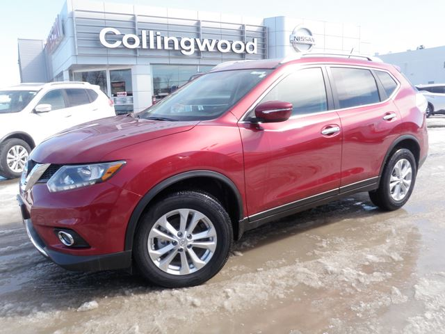 2015 nissan rogue sv awd new cash price red collingwood nissan. Black Bedroom Furniture Sets. Home Design Ideas