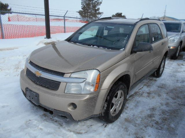 2007 chevrolet equinox ls gold north toronto auction. Black Bedroom Furniture Sets. Home Design Ideas