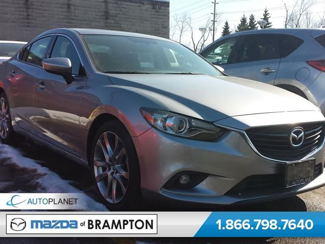 2015 mazda mazda6 gt brampton ontario used car for sale 2063632. Black Bedroom Furniture Sets. Home Design Ideas