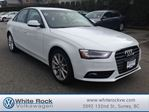 2014 Audi A4 2.0 Progressiv in Surrey, British Columbia