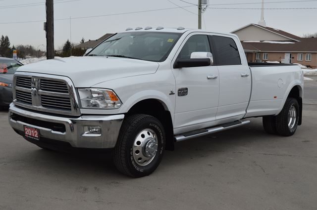 2012 dodge ram 3500 diesel longhorn dually crew ottawa ontario used car for sale 2069572. Black Bedroom Furniture Sets. Home Design Ideas