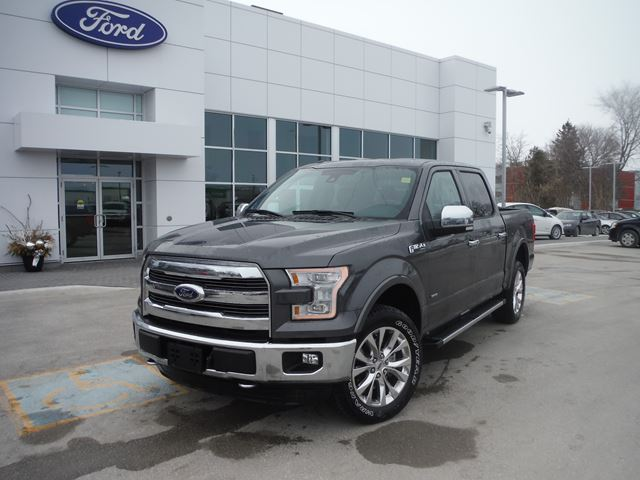 2015 ford f 150 lariat orillia ontario new car for sale 2070076. Black Bedroom Furniture Sets. Home Design Ideas