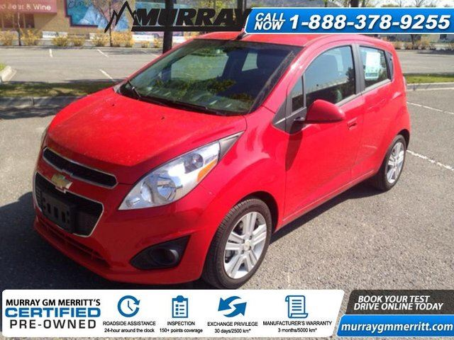 2014 chevrolet spark 1lt cvt merritt british columbia. Black Bedroom Furniture Sets. Home Design Ideas