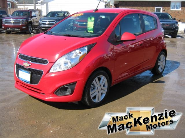 2014 chevrolet spark 1lt renfrew ontario used car for. Black Bedroom Furniture Sets. Home Design Ideas