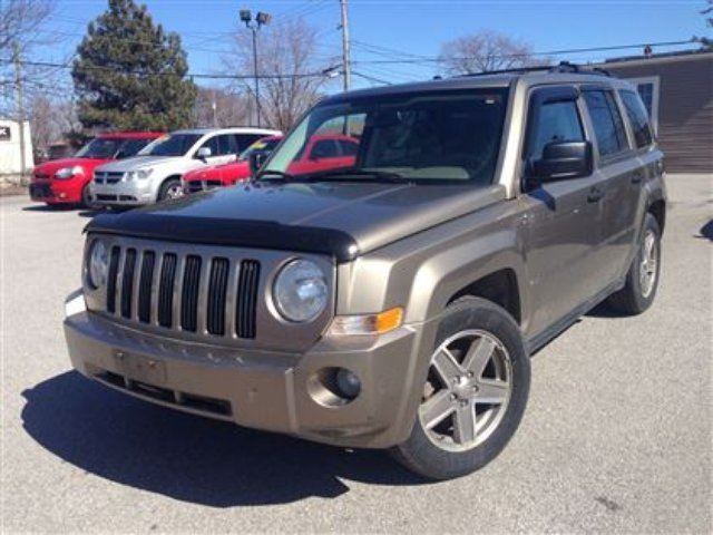2007 jeep patriot sport st catharines ontario used car. Black Bedroom Furniture Sets. Home Design Ideas