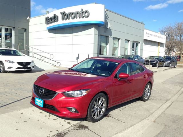 2015 mazda mazda6 gt tech navi toronto ontario used car for sale 2072767. Black Bedroom Furniture Sets. Home Design Ideas