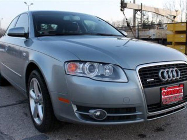 2007 Audi A4 3 2l V6 Quattro Awd Certified Waterloo