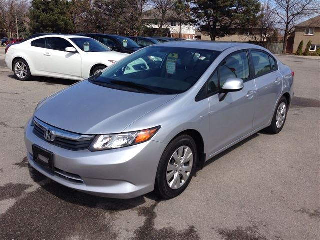 2012 Honda Civic Lx Hamilton Ontario Used Car For Sale 2077133