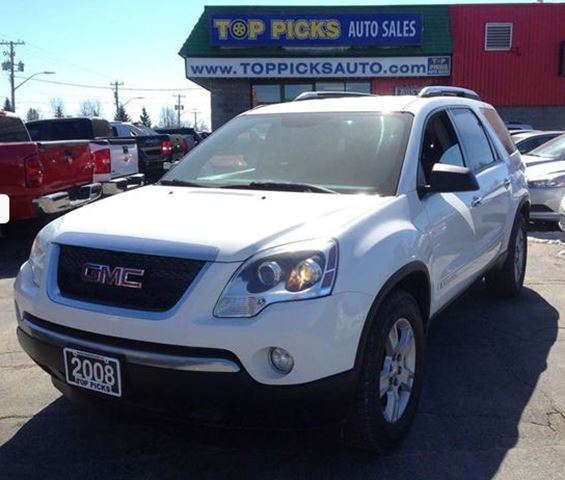 2008 gmc acadia sle north bay ontario used car for sale. Black Bedroom Furniture Sets. Home Design Ideas