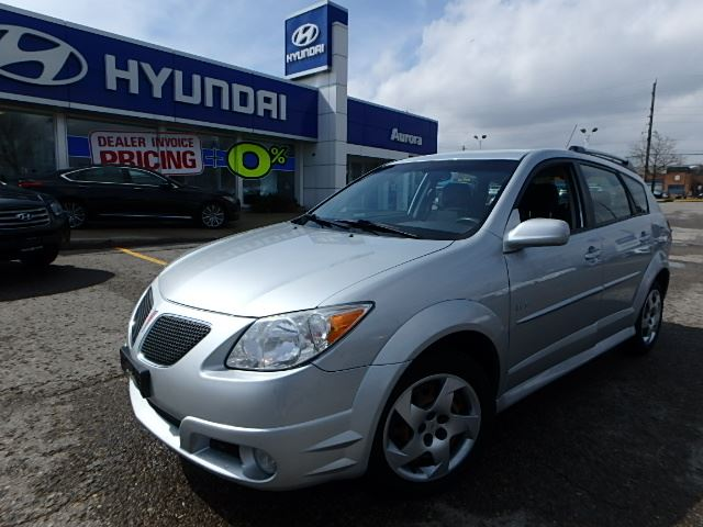 2007 pontiac vibe aurora ontario used car for sale. Black Bedroom Furniture Sets. Home Design Ideas