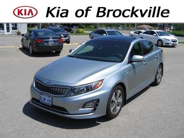 2014 kia optima hybrid ex silver kia of brockville. Black Bedroom Furniture Sets. Home Design Ideas