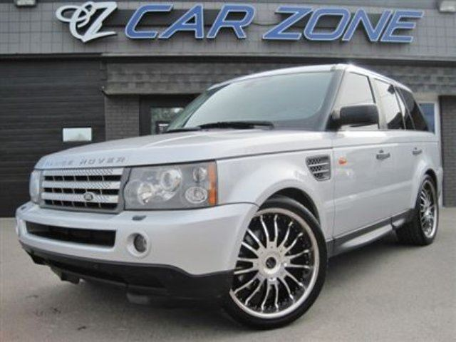 2006 land rover range rover sport supercharged calgary alberta used car for sale 2083923. Black Bedroom Furniture Sets. Home Design Ideas