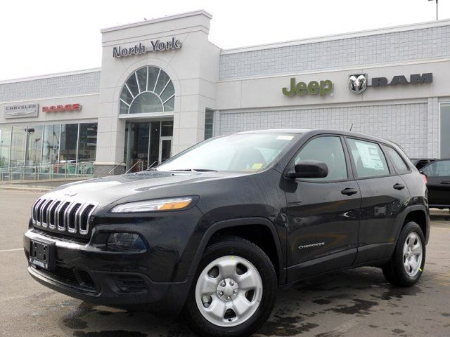 2015 jeep cherokee sport thornhill ontario new car for sale 2084654. Black Bedroom Furniture Sets. Home Design Ideas