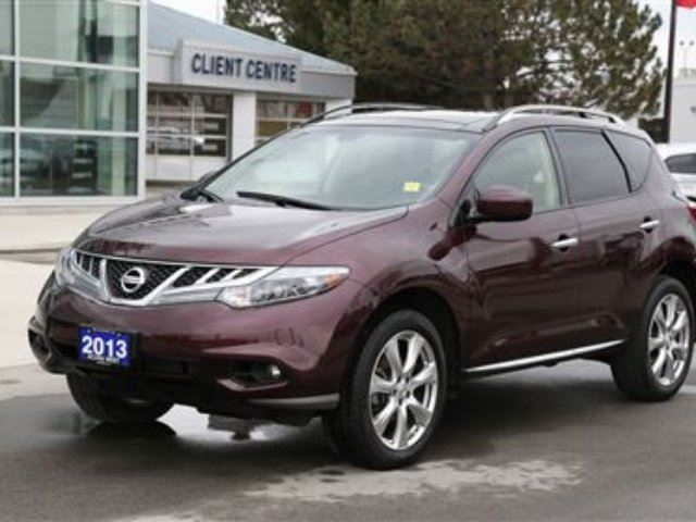 2013 nissan murano le platinum london ontario used car. Black Bedroom Furniture Sets. Home Design Ideas