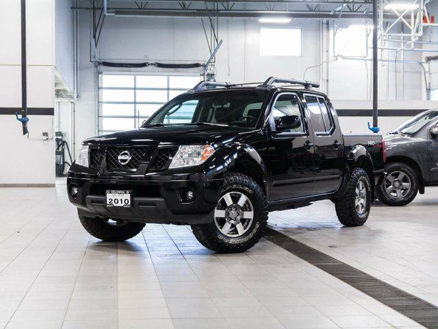 2010 nissan frontier pro 4x crew cab 4wd w leather package kelowna british columbia used car. Black Bedroom Furniture Sets. Home Design Ideas