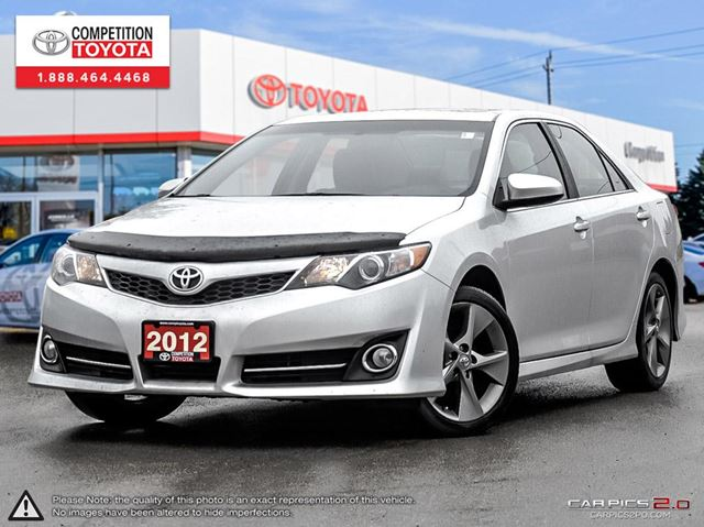 2012 toyota camry se v6 500 gas card included until march 31st london ontario used car. Black Bedroom Furniture Sets. Home Design Ideas