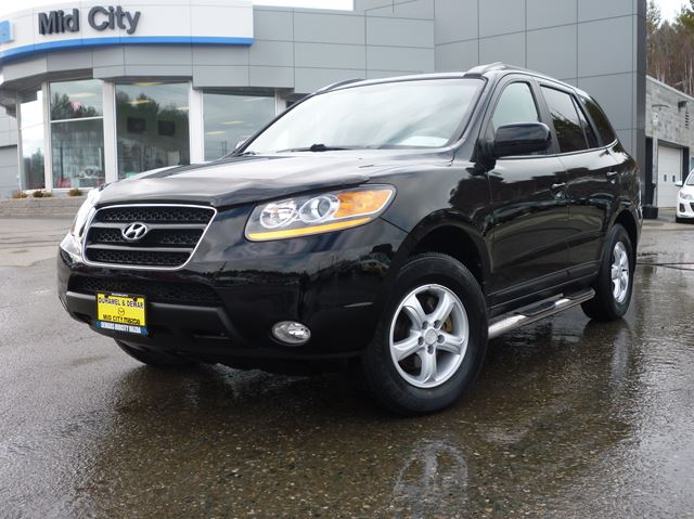 2009 hyundai santa fe gls sudbury ontario used car for. Black Bedroom Furniture Sets. Home Design Ideas