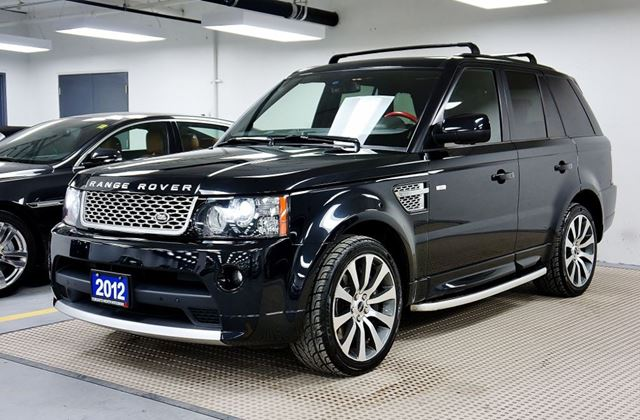 2012 land rover range rover sport supercharged autobiography no accident toronto ontario used. Black Bedroom Furniture Sets. Home Design Ideas