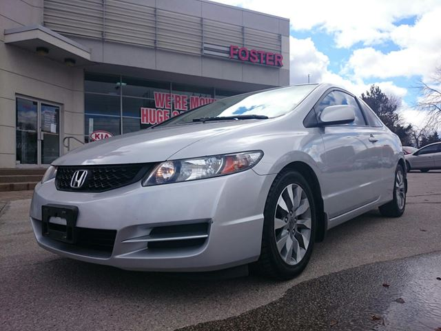 2009 honda civic ex l coupe 5 speed at scarborough ontario used car for sale 2086784. Black Bedroom Furniture Sets. Home Design Ideas