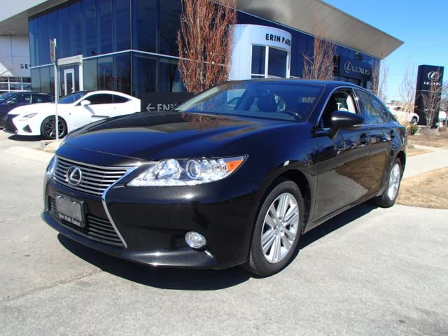 2014 lexus es 350 premium black erin park lexus. Black Bedroom Furniture Sets. Home Design Ideas