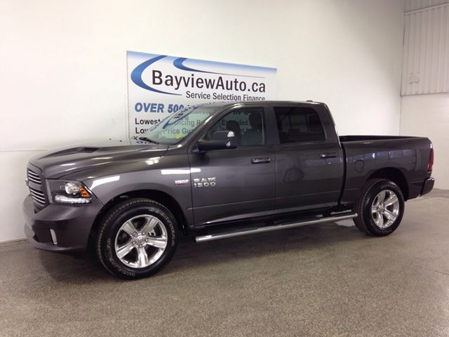 2014 dodge ram 1500 sport hemi sunroof heated leather. Black Bedroom Furniture Sets. Home Design Ideas