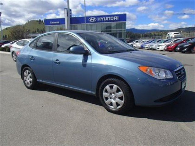 2009 hyundai elantra gls kelowna british columbia used. Black Bedroom Furniture Sets. Home Design Ideas
