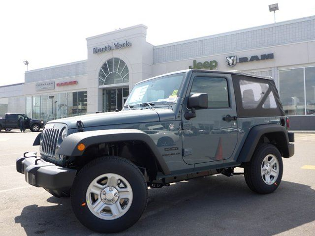 2015 jeep wrangler sport new soft top a c cruise cntrl auto transmission great value thornhill. Black Bedroom Furniture Sets. Home Design Ideas