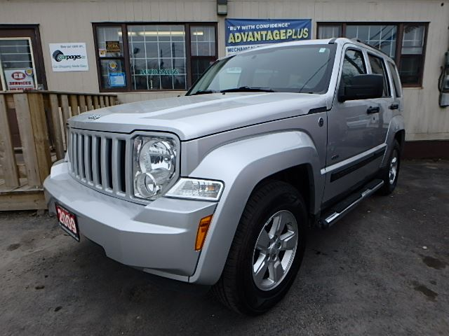 2009 jeep liberty sport cert etested oshawa ontario. Black Bedroom Furniture Sets. Home Design Ideas
