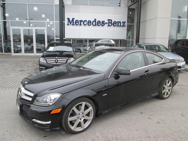 2012 mercedes benz c350 coupe obsidian black met star for 2012 mercedes benz c350 price