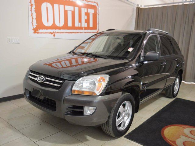 2006 kia sportage lx v6 4dr 4x4 black go auto outlet. Black Bedroom Furniture Sets. Home Design Ideas
