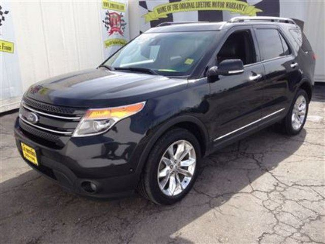 2013 ford explorer limited burlington ontario used car for sale. Cars Review. Best American Auto & Cars Review