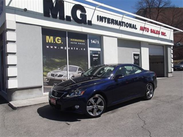 2012 lexus is 350c blue mg international auto sales. Black Bedroom Furniture Sets. Home Design Ideas