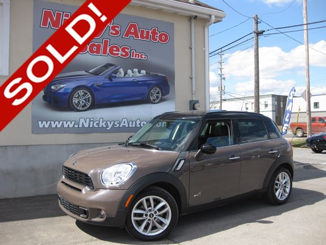 2011 mini cooper countryman s all4 awd 34km heated seats 6spd manual panoramic roof. Black Bedroom Furniture Sets. Home Design Ideas