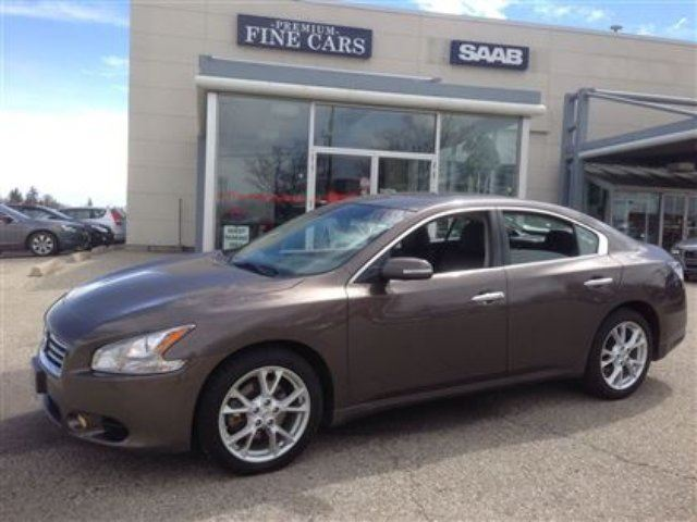 2013 nissan maxima 3 5 sv no accidents sunroof leather kitchener ontario used car for sale. Black Bedroom Furniture Sets. Home Design Ideas