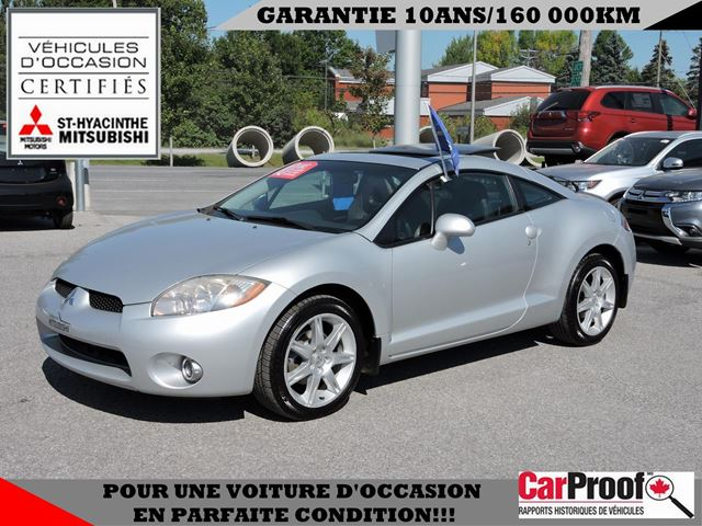2007 mitsubishi eclipse gt p saint hyacinthe quebec. Black Bedroom Furniture Sets. Home Design Ideas