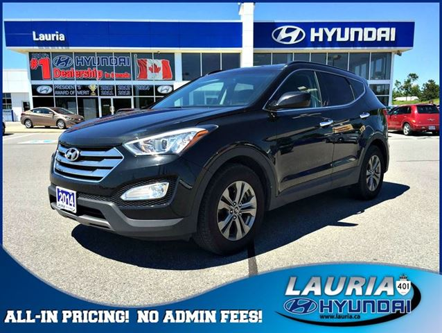 2014 hyundai santa fe 2 4l awd premium auto port hope ontario used car for sale 2111420. Black Bedroom Furniture Sets. Home Design Ideas