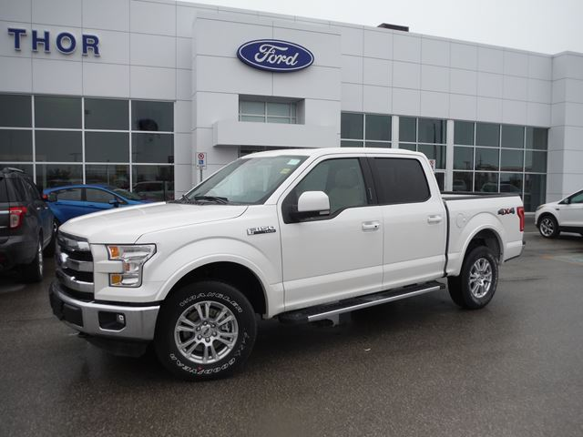 2015 ford f 150 lariat orillia ontario new car for sale 2114195. Black Bedroom Furniture Sets. Home Design Ideas