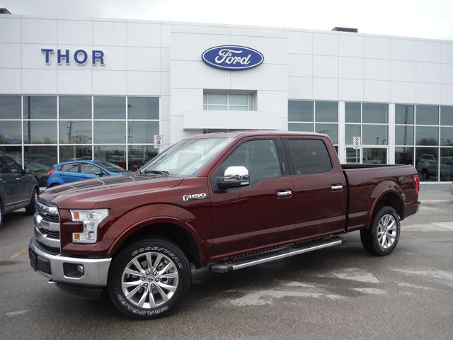 2015 ford f 150 lariat orillia ontario new car for sale 2114204. Black Bedroom Furniture Sets. Home Design Ideas