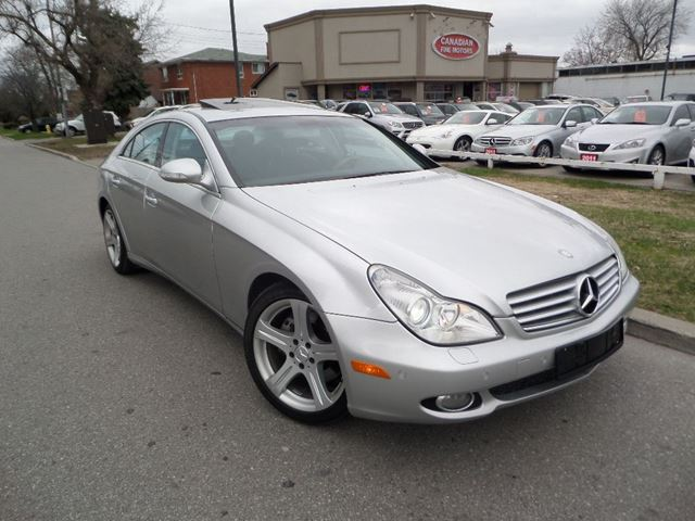 2006 mercedes benz cls class cls500 navigation silver. Black Bedroom Furniture Sets. Home Design Ideas