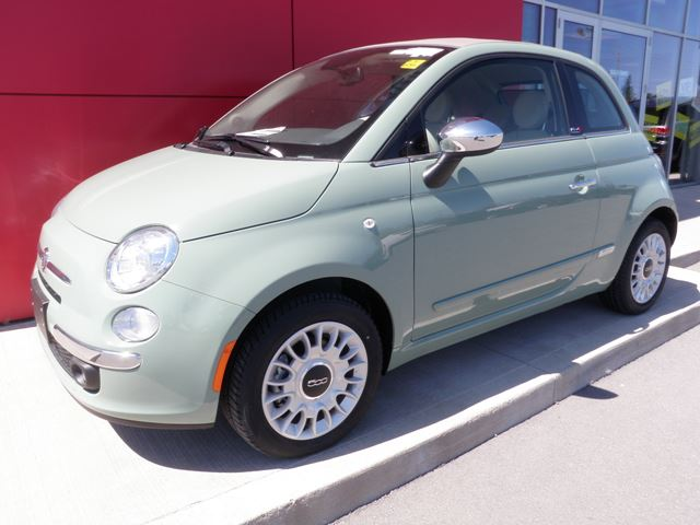 2015 fiat 500 lounge milton ontario new car for sale 2120179. Black Bedroom Furniture Sets. Home Design Ideas