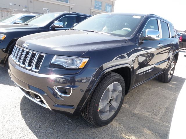 2015 jeep grand cherokee overland 4x4 milton ontario new car for sale 2120225. Black Bedroom Furniture Sets. Home Design Ideas