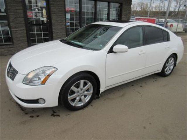 2006 Nissan Maxima Sl Loaded Only 133k White Family