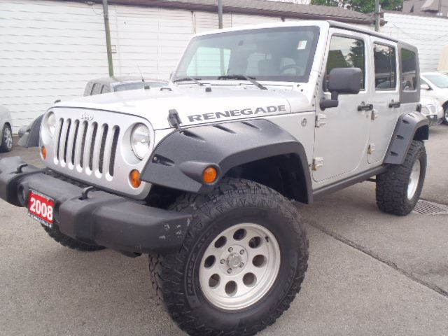 2008 jeep wrangler unlimited renegade silver dickson for 2008 jeep wrangler motor