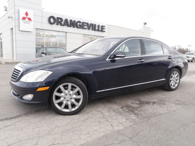2007 mercedes benz s class v8 caledon ontario used car for 2007 mercedes benz s class for sale