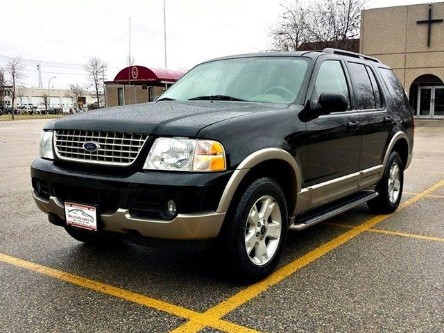 2003 ford explorer eddie bauer 4dr 4x4 black westside sales ltd. Black Bedroom Furniture Sets. Home Design Ideas