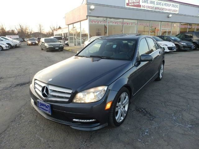 2011 mercedes benz c class 4dr sdn c250 4matic gray for Mercedes benz c class 2011 price