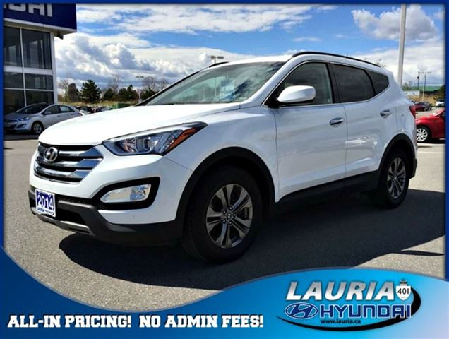 2014 hyundai santa fe 2 4l awd premium port hope ontario used car for sale 2123649. Black Bedroom Furniture Sets. Home Design Ideas