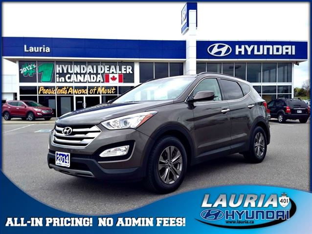 2014 hyundai santa fe 2 4l awd premium port hope ontario used car for sale 2123652. Black Bedroom Furniture Sets. Home Design Ideas