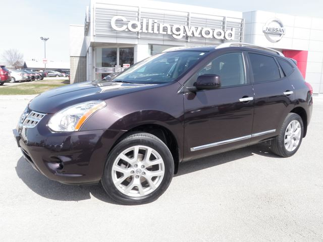 2012 nissan rogue sv awd collingwood ontario used car for sale 2123864. Black Bedroom Furniture Sets. Home Design Ideas